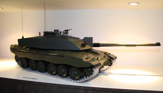 组图:BAE公司展示新型野战工程车与主战坦克