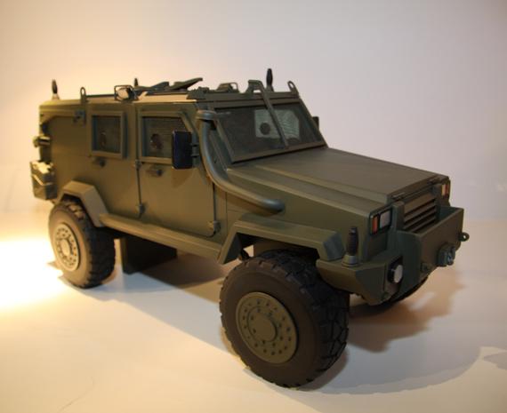 图文:新型军用吉普车