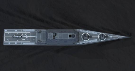 图文:海军对DDG1000项目支持一直十分冷淡