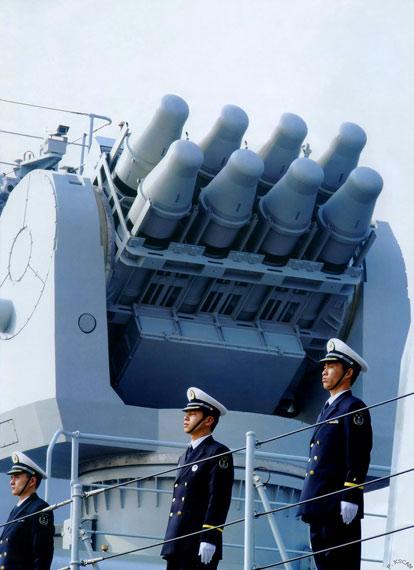 中国仿制型海红旗-7性能远超原型海响尾蛇导弹