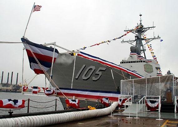 图文:美海军希望新阿利-伯克舰使用电力推进系统