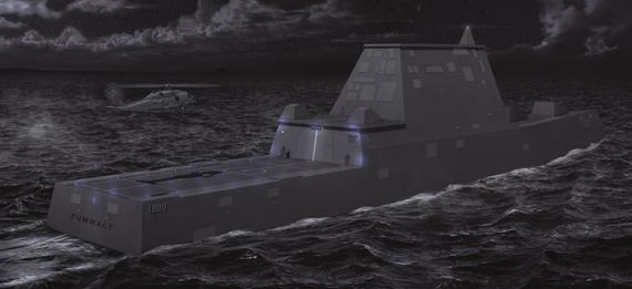 资料图:美国海军已经着手停止DDG1000的进一步生产