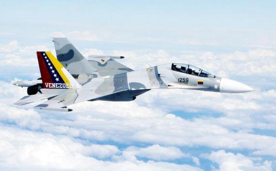 受到美国制裁后,委内瑞拉从俄罗斯采购了大量新型战机