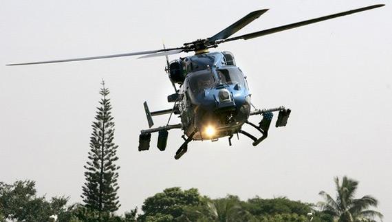 图文:印度国产武装型北极星直升机