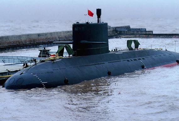 资料图:中国海军最新型元级潜艇