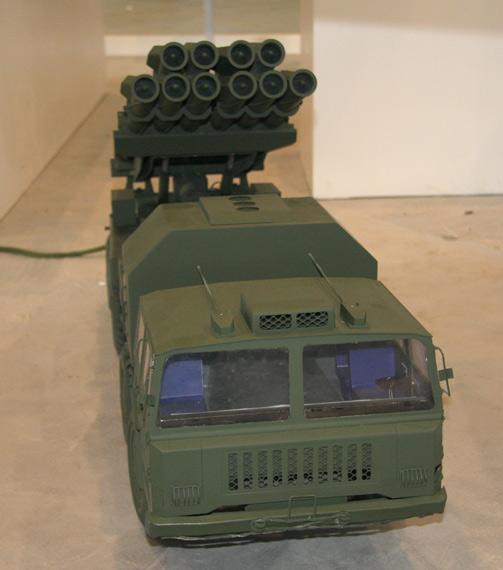 远程火箭炮_图中国陆军PHL03300毫米多管远程火箭炮_军