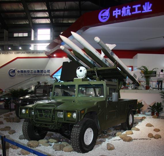 航展现场报道:揭秘国产猎手II型综合防御系统