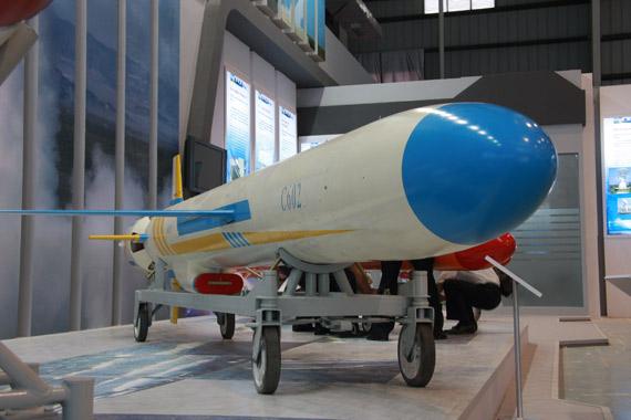 国产重型C-602机载远程反舰导弹亮相(组图)