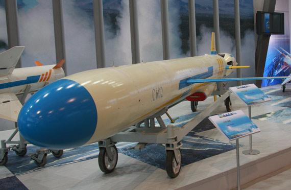 自用型C-602导弹战斗部重达300公斤摄影:门广阔新浪独家图片,未经许可不得转载。