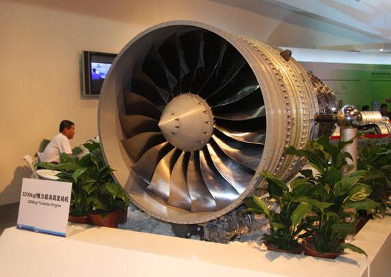 国产ARJ21支线客机用3200公斤推力发动机摄影:门广阔新浪独家图片,未经许可不得转载