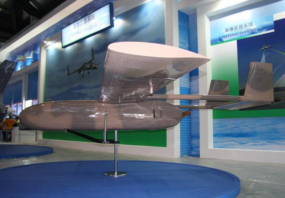 国产PW-2型中近程无人机摄影:门广阔