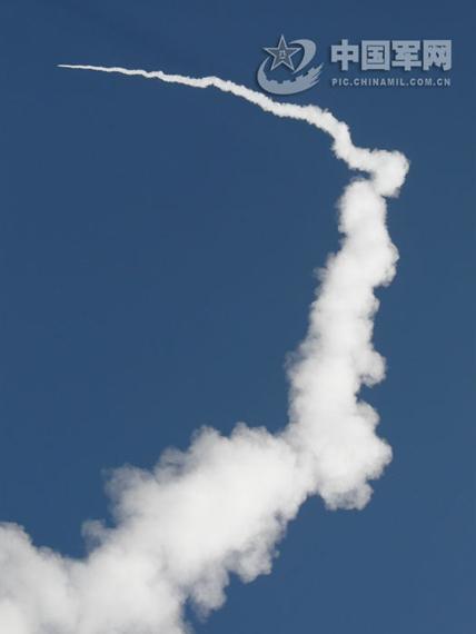 东风导弹发射成功