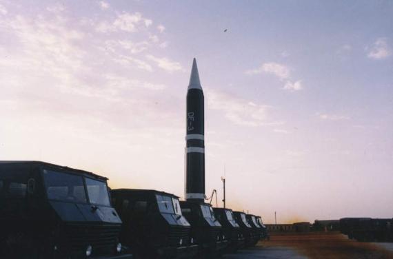 资料图:解放军东风-3战略弹道导弹