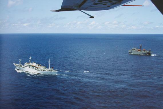 资料图:中国海监海上执法船队