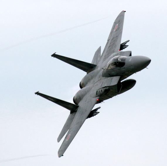 资料图:日本现役F-15J战机