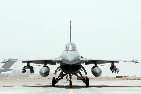 美国空军F-16CBLOCK50轻型战机