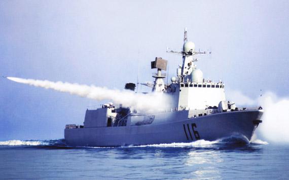 国产新型防空导弹驱逐舰已经成军