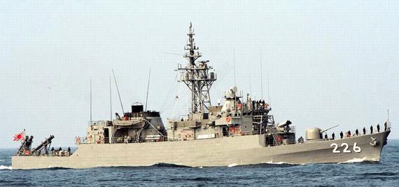资料图:日本海上自卫队石狩号导弹护卫舰