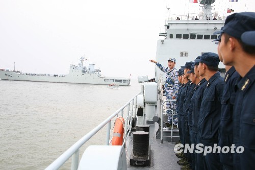 teacher to the defense Health introduced the ship wind knowledge. Zhongji Jun agency issued photo