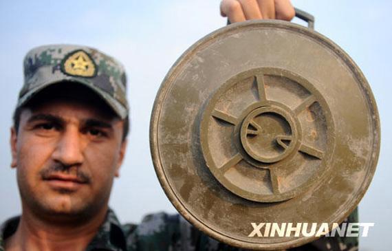中国政府为阿富汗伊拉克培训扫雷人员!!
