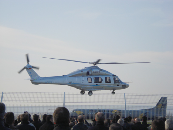 EC175 -Z15 helicopter took off