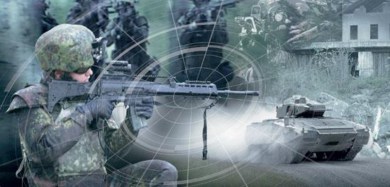 德军未来士兵系统宣传图