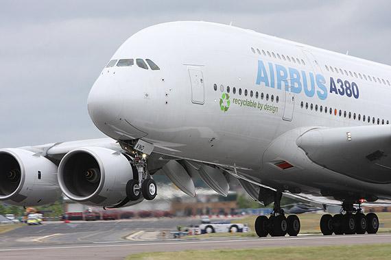 空客公司在范堡罗航展上收获400多亿美元新订单
