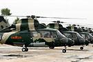 解放军武装型直9机群
