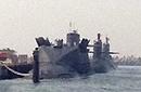 094核潜艇打开核弹发射井舱盖