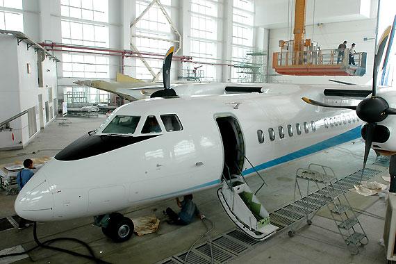 国产新型涡桨支线客机新舟600本月29日下线