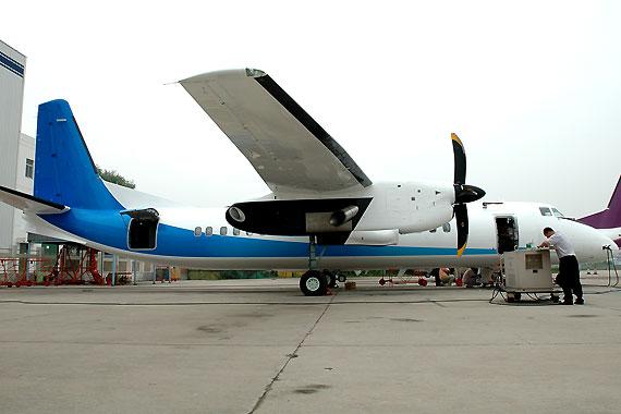 首架新舟600飞机总装下线可进行双发延程飞行
