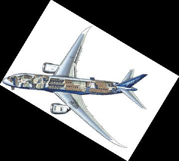 美国波音787客机今日首航 我国共订购57架