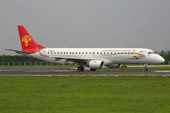 资料图:天津航空客机