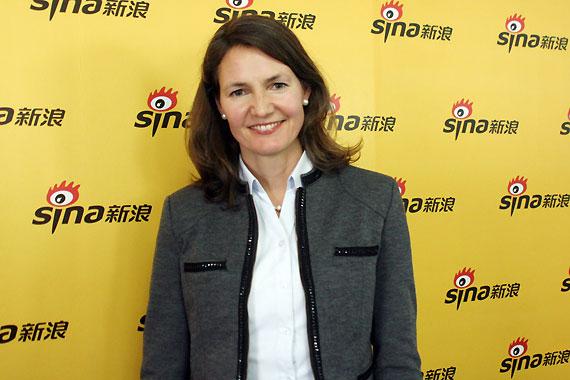 汉莎航空中国区的首席代表葛天娜女士