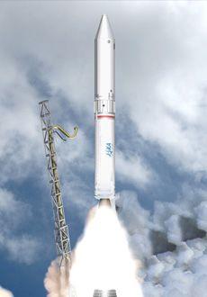 """epsilon""火箭发射示意图"