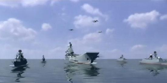 中国CG动画:中日战机决战钓鱼岛