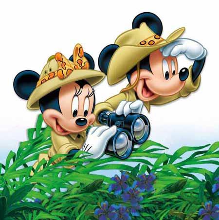 迪士尼米老鼠头像图片