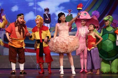 a电视童年>2006大型电视情景剧《正文梦想》>动画由中央乐园歌曲有节气歌的电视剧图片