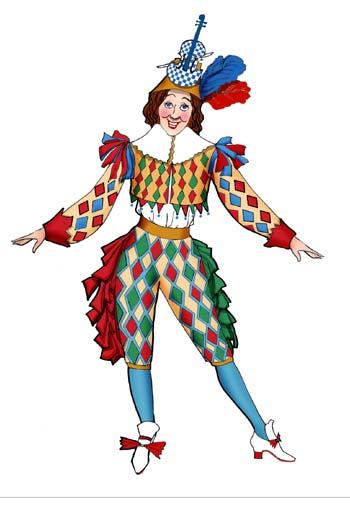 图:《灰姑娘》服装设计之呼噜