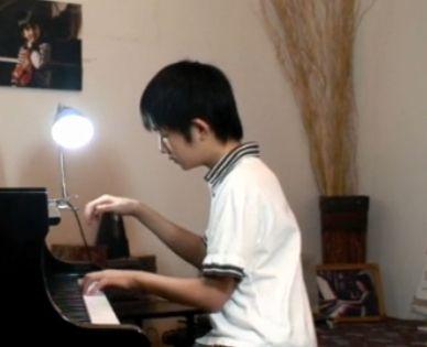 钢琴曲《我的祖国》