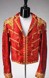 80年代皇家风袖章夹克