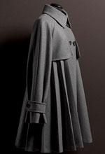 Maxmara经典灰色风衣