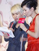 美女主播李霞与型男造型师高健