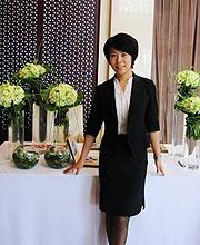 李欣芸婚礼策划自由人,风格很洋气