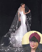 桂由美婚纱