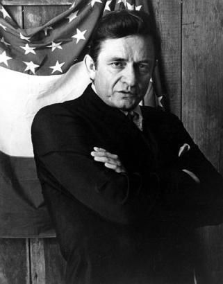 永远以黑衣人形象示人的Johnny Cash