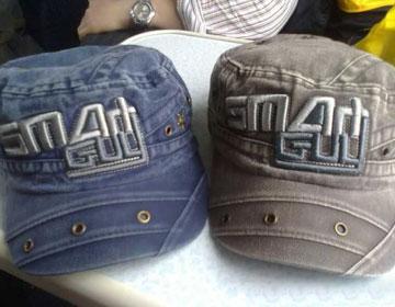 我们在上海买的帽子