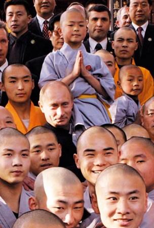 俄罗斯总统普京访问少林寺