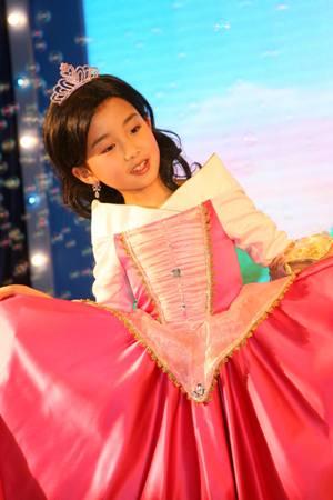 每个小女孩心中都有一个公主梦