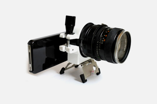 iphone 4推出专用单反拍摄配件